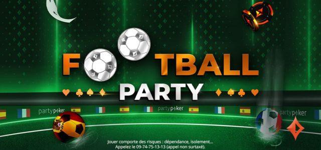Cet été, ne manquez pas la Football Party!
